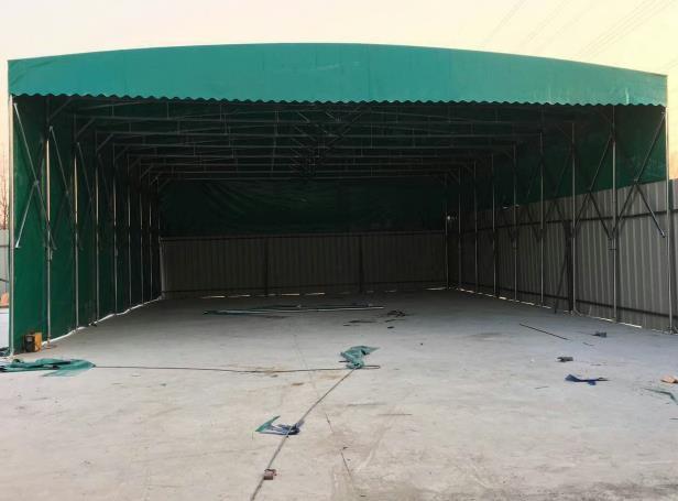茂名仓储雨棚